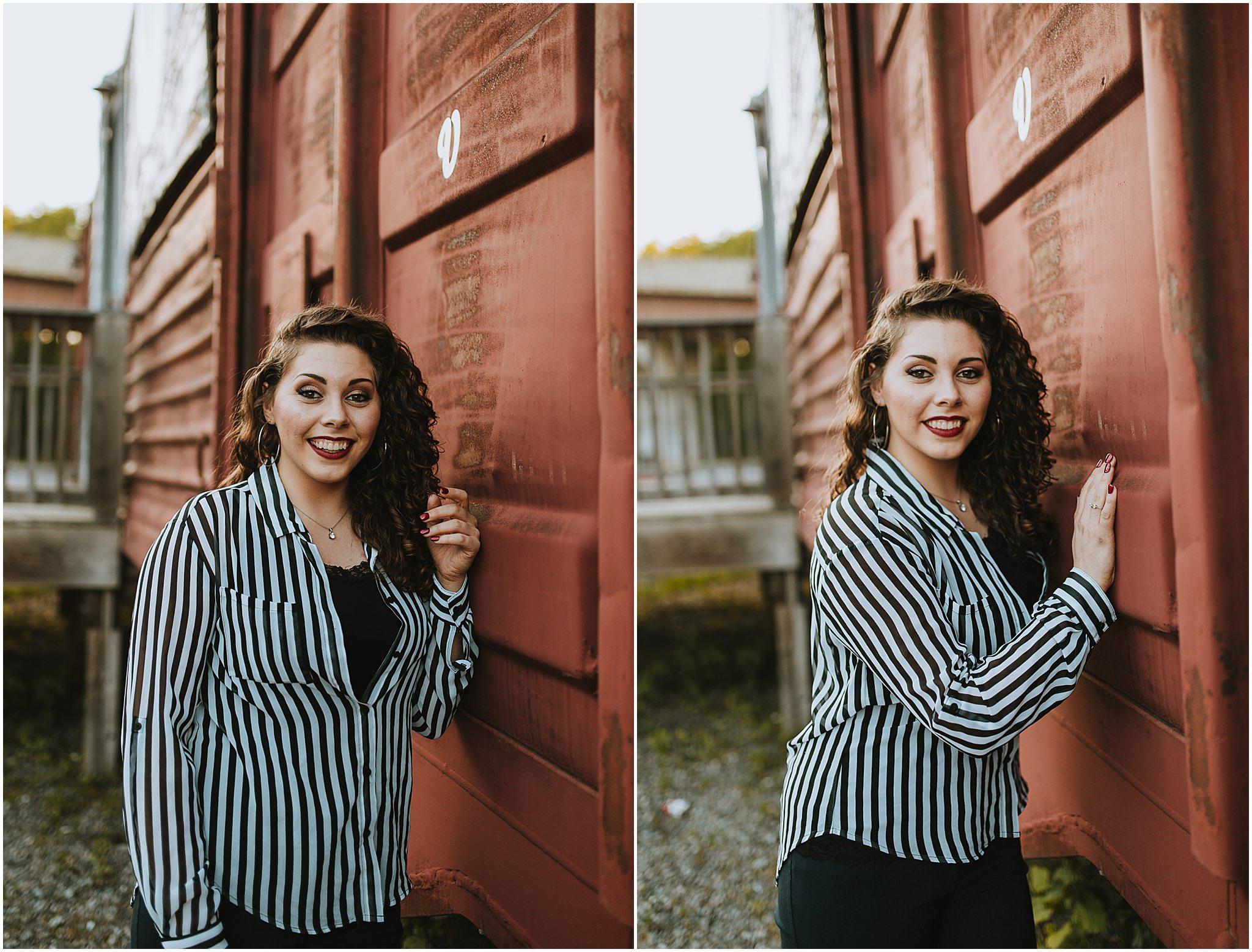 Sara's Senior Portrait Downtown Lynchburg, VA 92