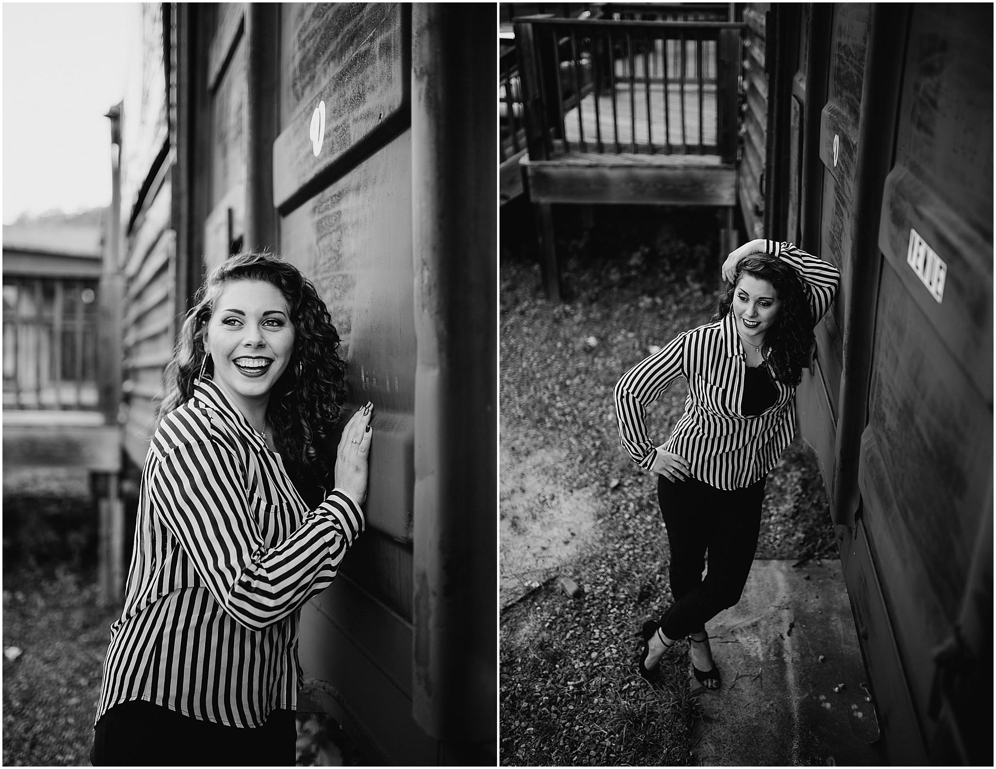 Sara's Senior Portrait Downtown Lynchburg, VA 94