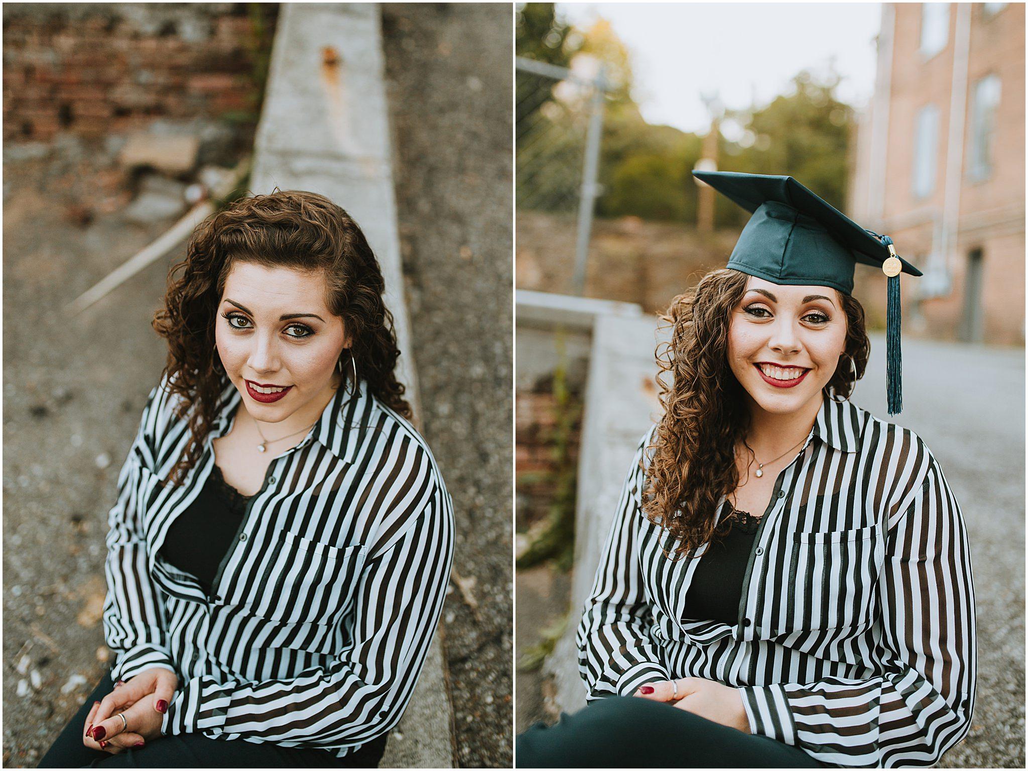 Sara's Senior Portrait Downtown Lynchburg, VA 104