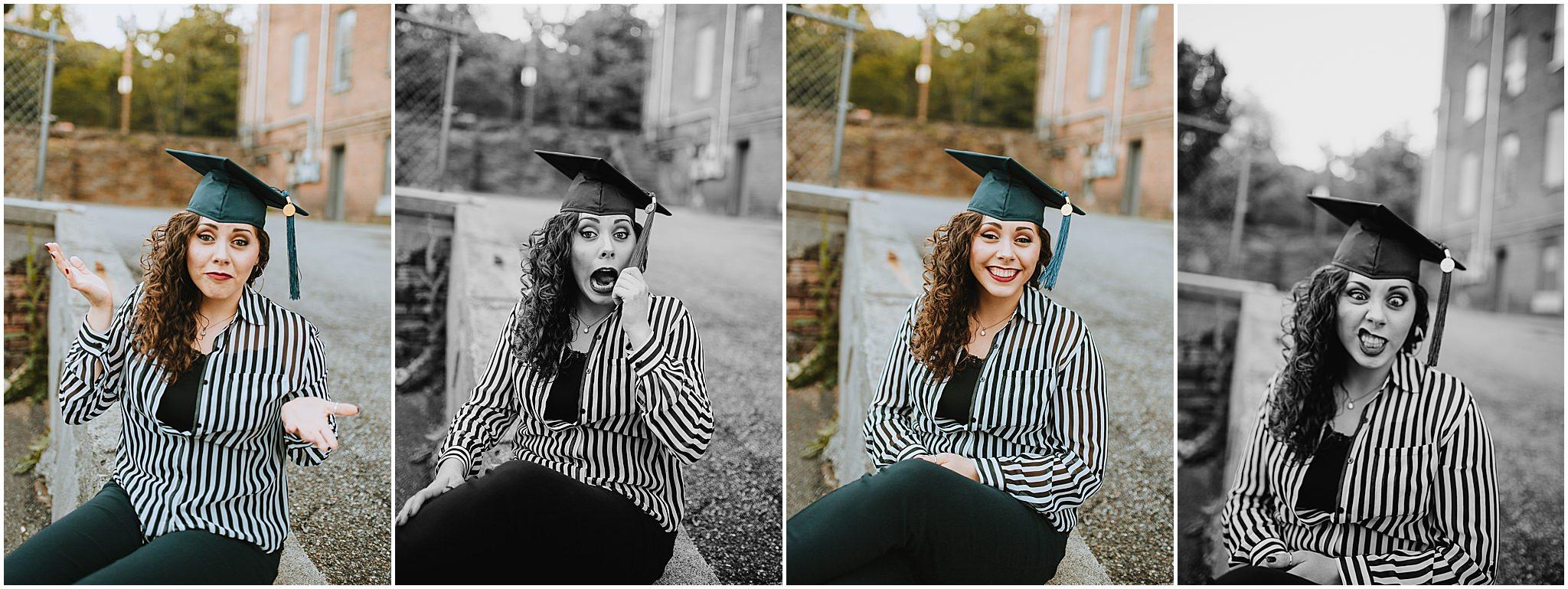 Sara's Senior Portrait Downtown Lynchburg, VA 106