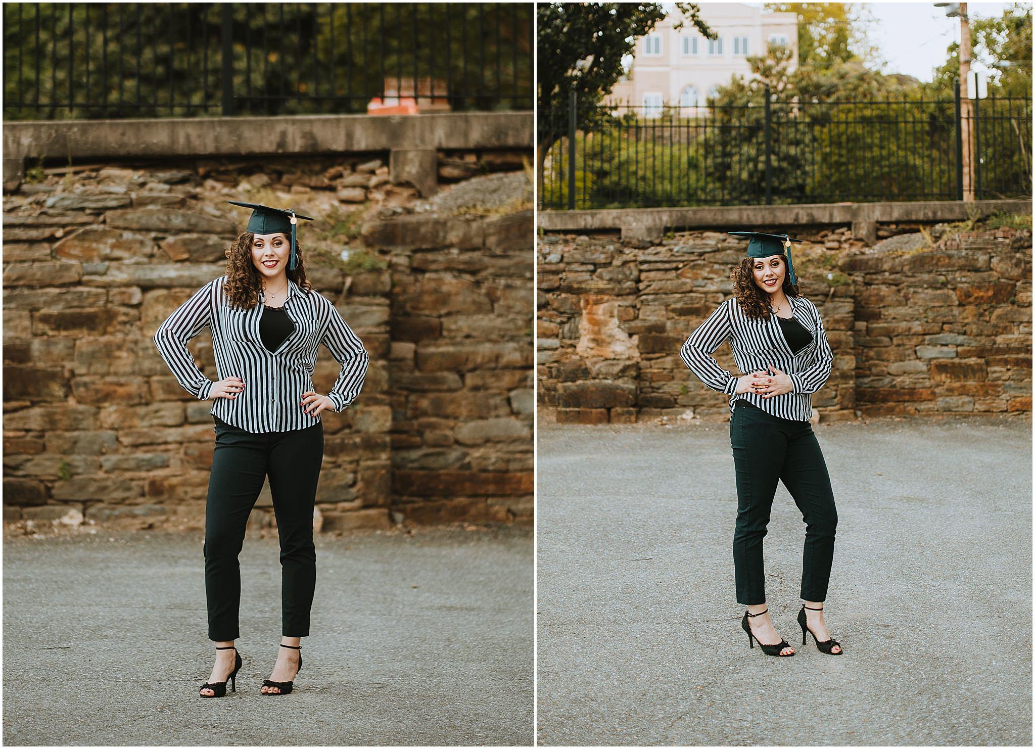 Sara's Senior Portrait Downtown Lynchburg, VA 108