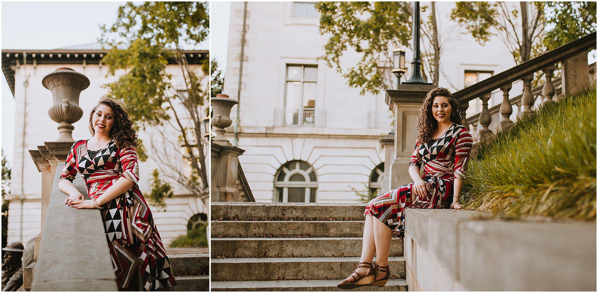 Sara's Senior Portrait Downtown Lynchburg, VA 114