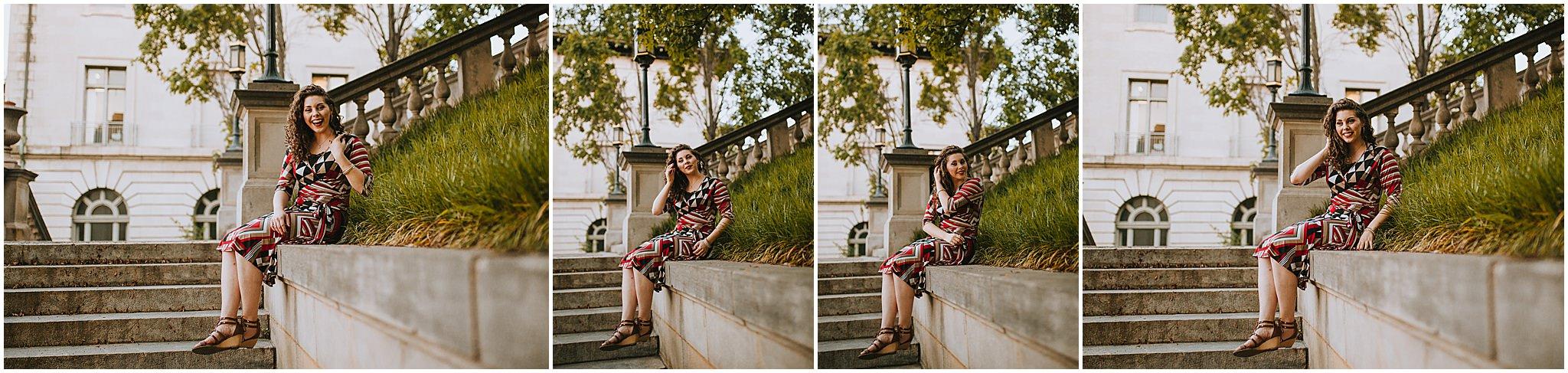Sara's Senior Portrait Downtown Lynchburg, VA 116