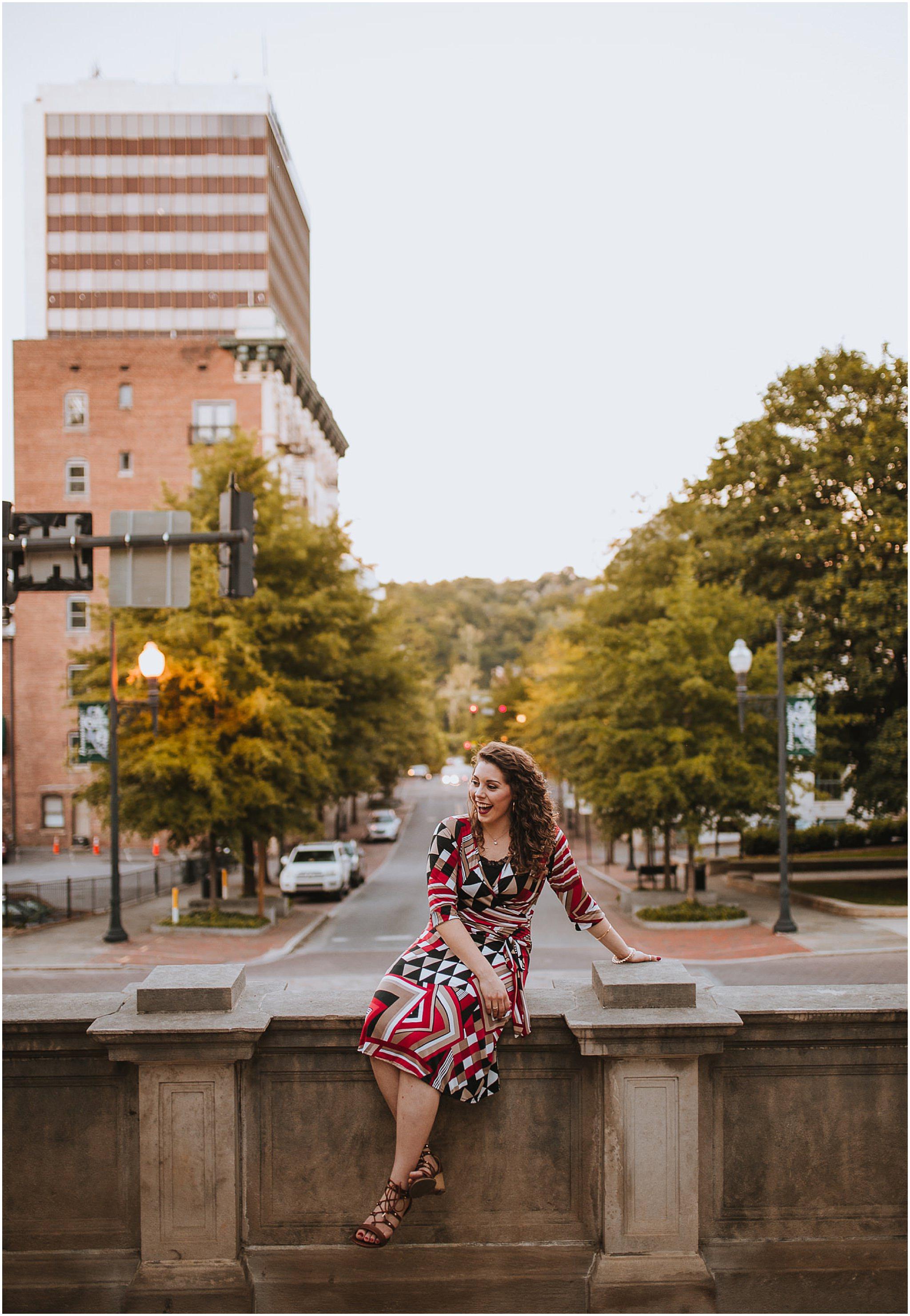 Sara's Senior Portrait Downtown Lynchburg, VA 120