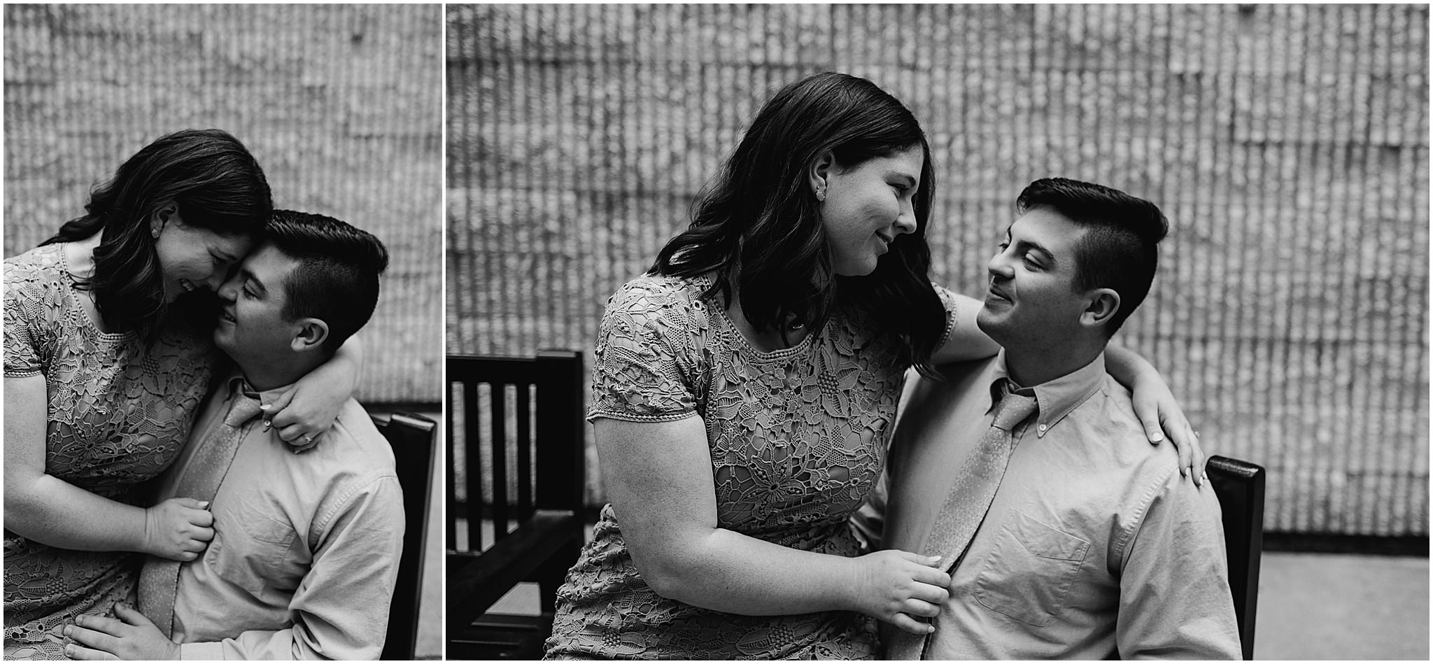 Clarice & Zac Fall Engagement Session Downtown Roanoke VA 98