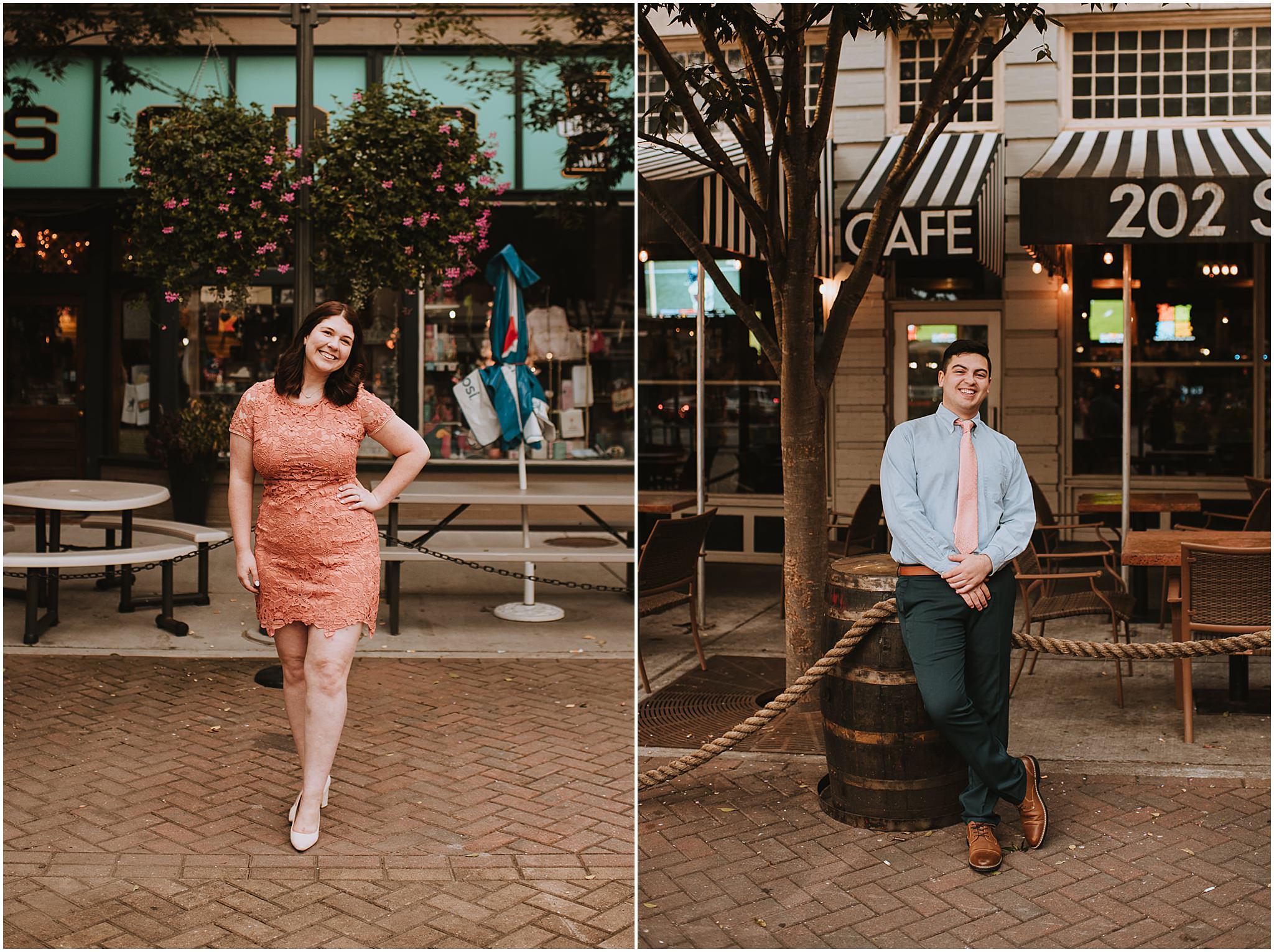 Clarice & Zac Fall Engagement Session Downtown Roanoke VA 108