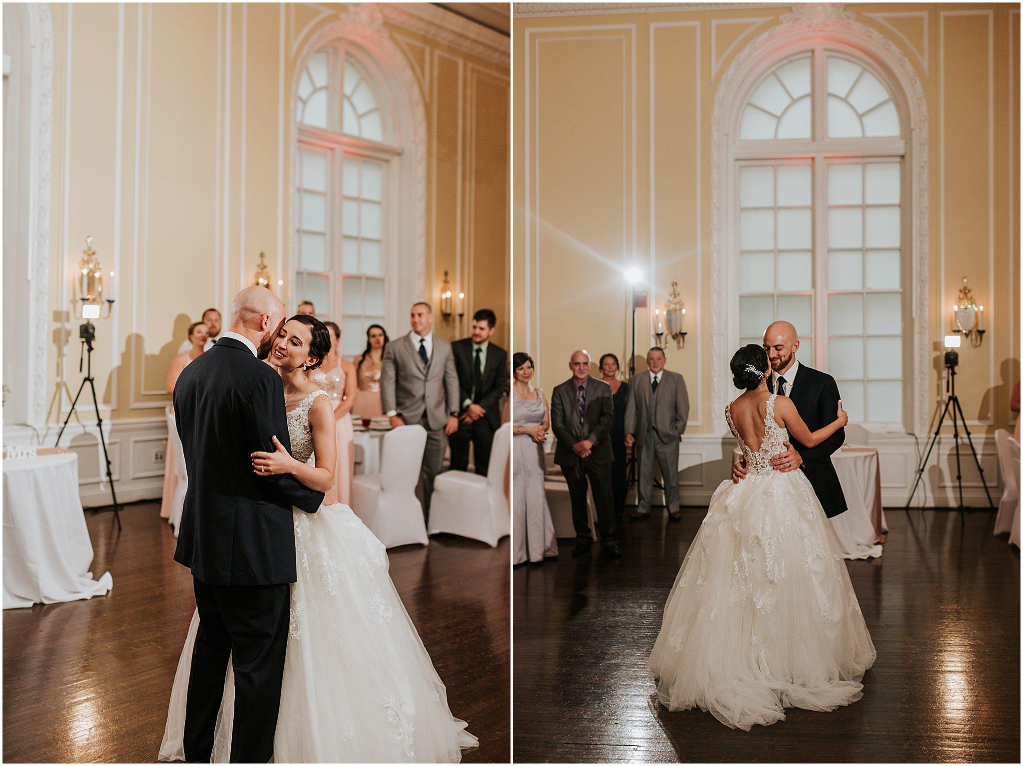 Maria & Brandon The Patrick Henry Ballroom Roanoke VA 308