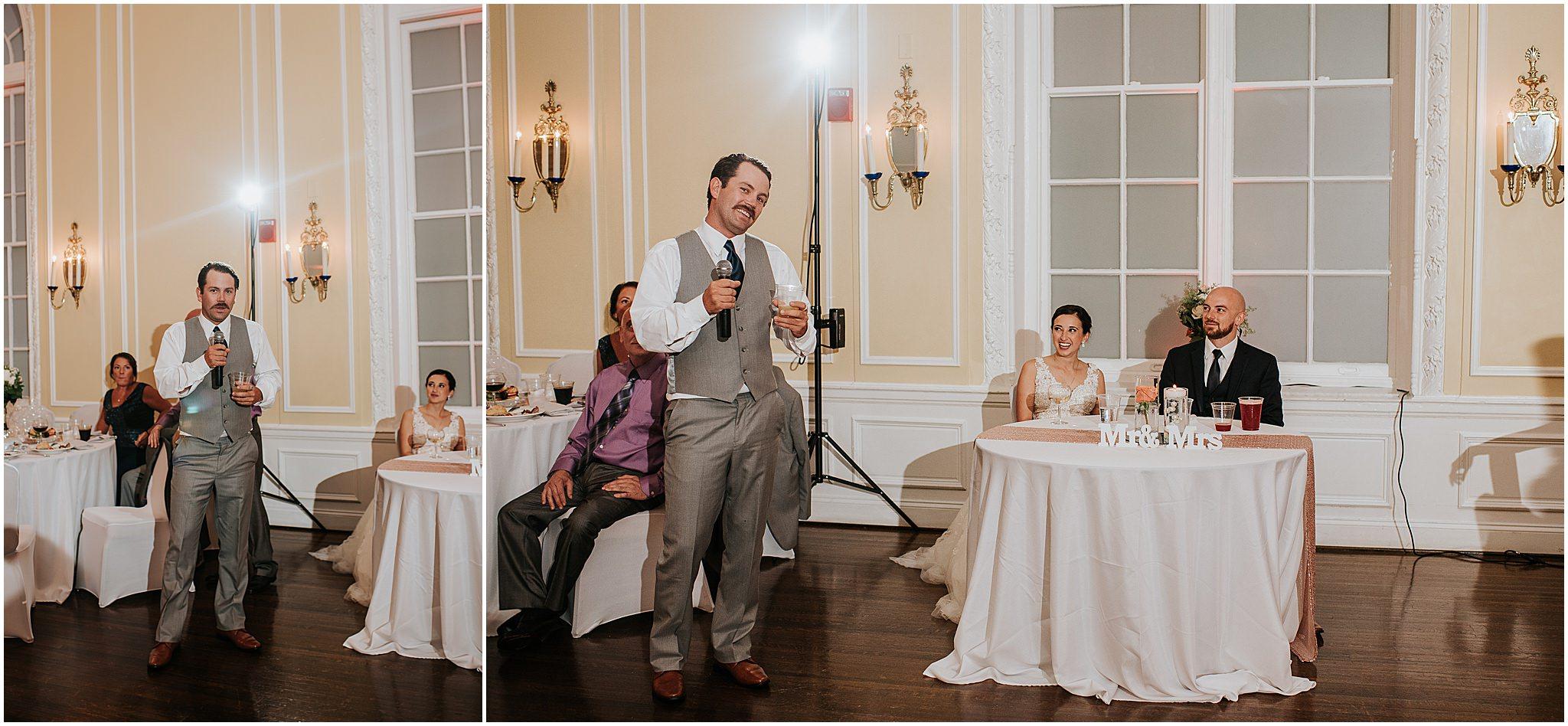 Maria & Brandon The Patrick Henry Ballroom Roanoke VA 316