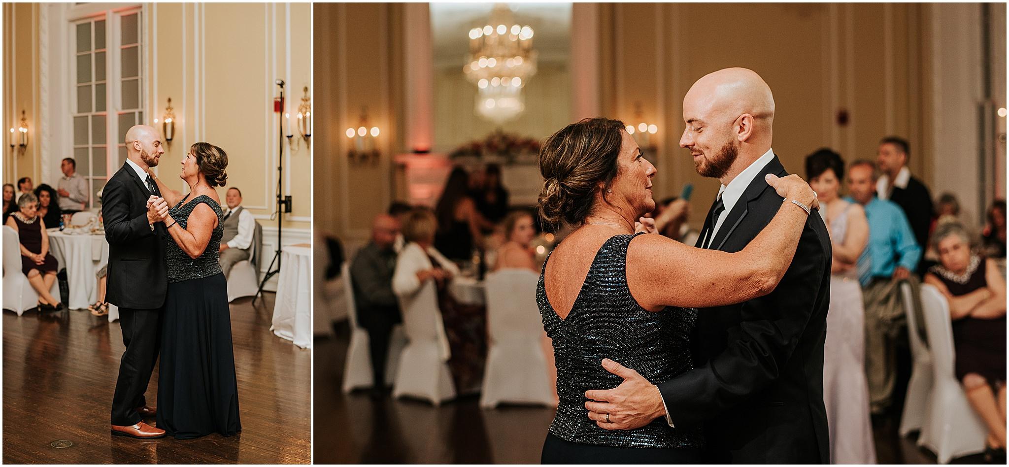 Maria & Brandon The Patrick Henry Ballroom Roanoke VA 330