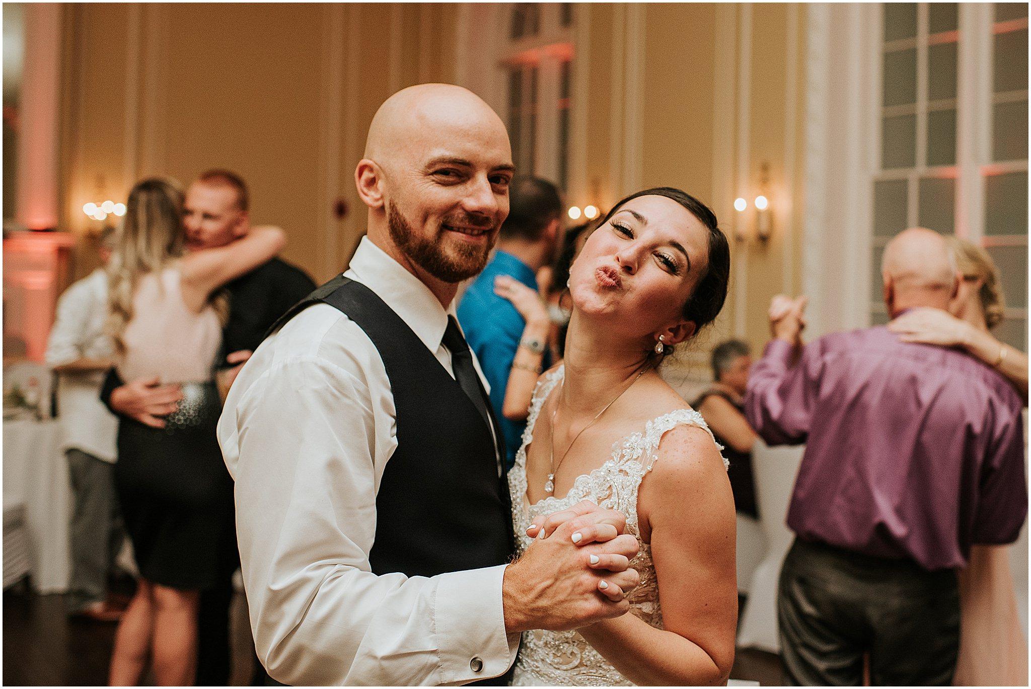 Maria & Brandon The Patrick Henry Ballroom Roanoke VA 350