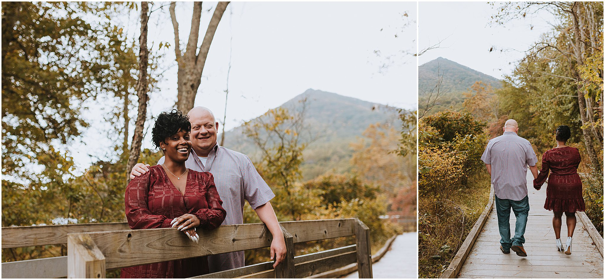 Maria & Brian Engagement session Peaks of Otter Lodge Bedford VA 48