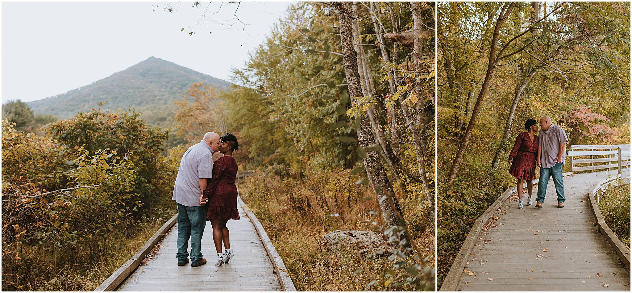 Maria & Brian Engagement session Peaks of Otter Lodge Bedford VA 52