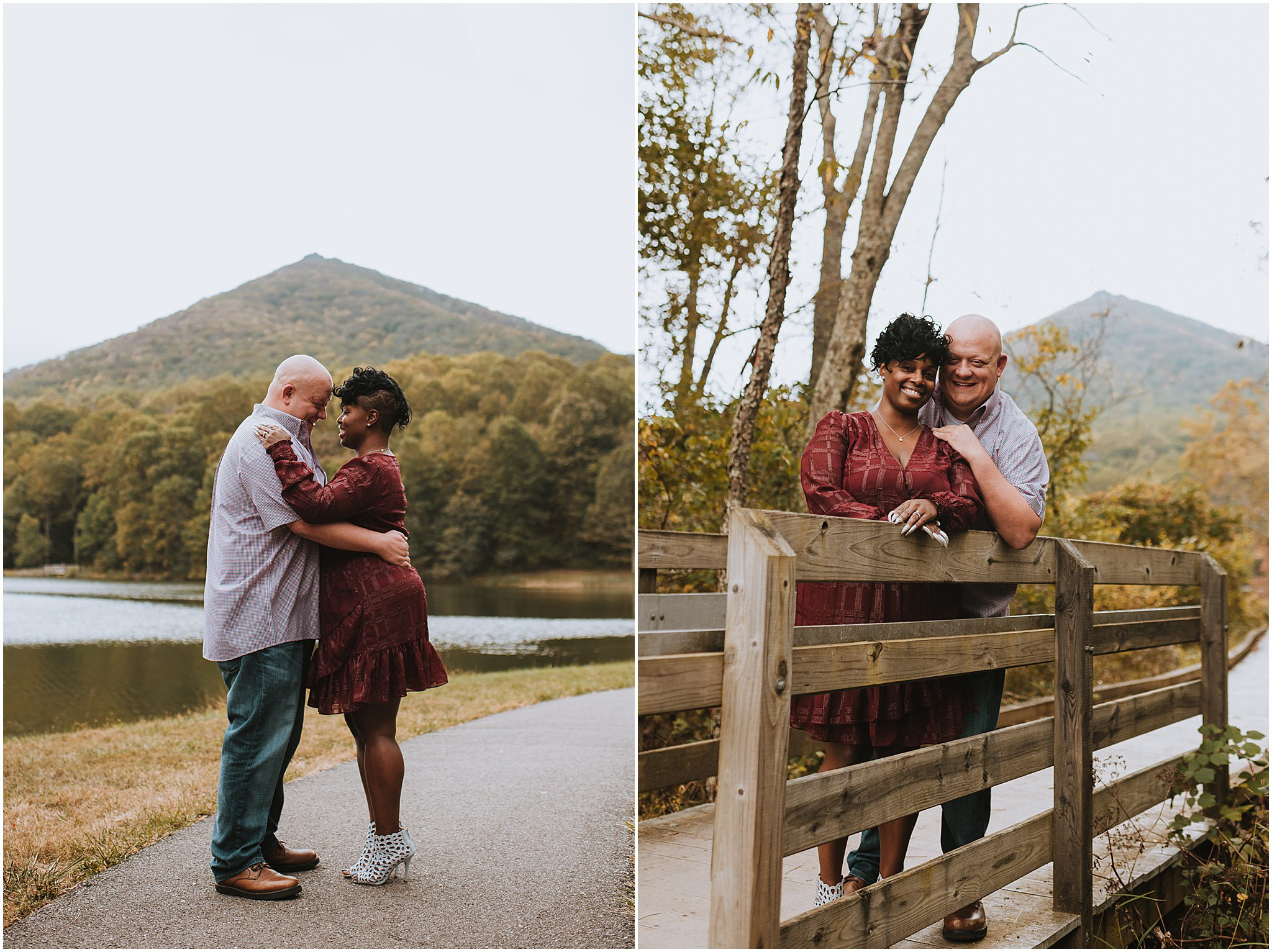 Maria & Brian Engagement session Peaks of Otter Lodge Bedford VA 54