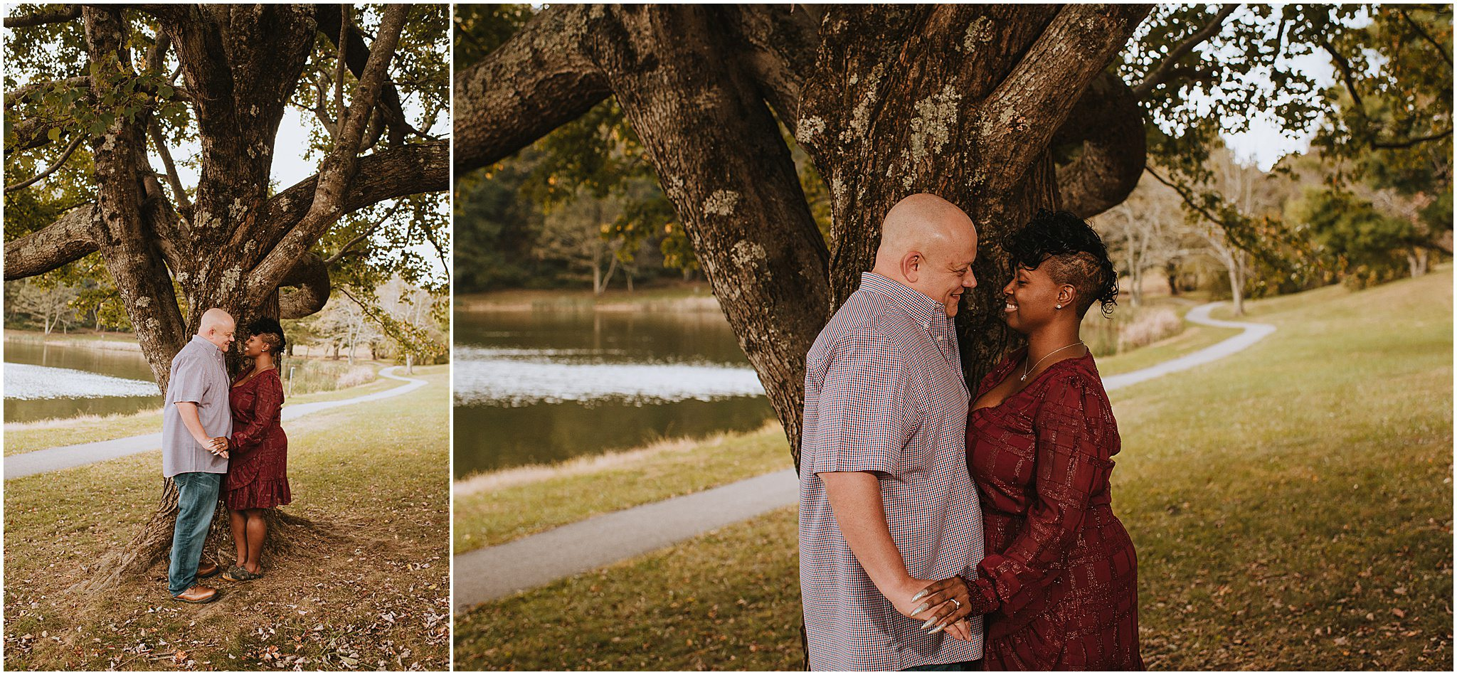 Maria & Brian Engagement session Peaks of Otter Lodge Bedford VA 60