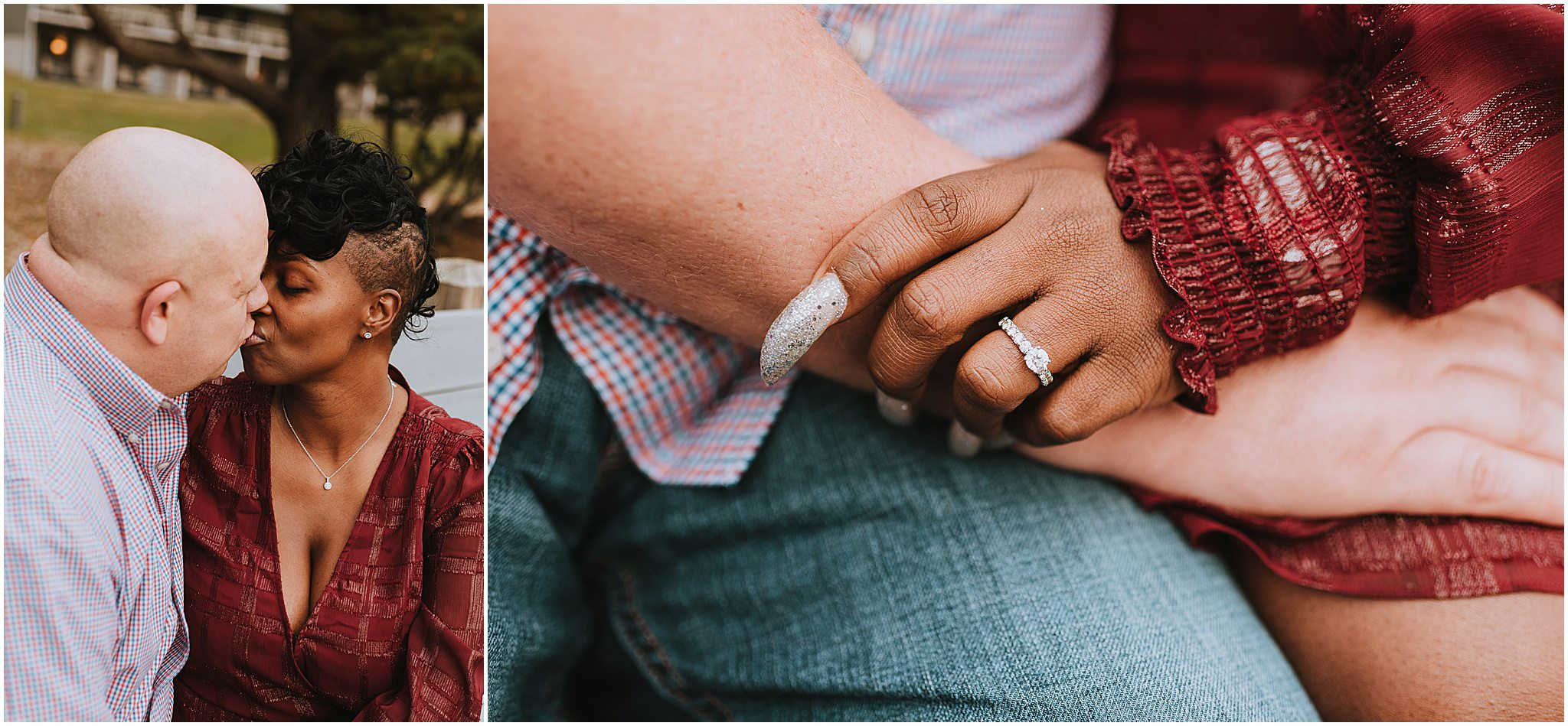 Maria & Brian Engagement session Peaks of Otter Lodge Bedford VA 66
